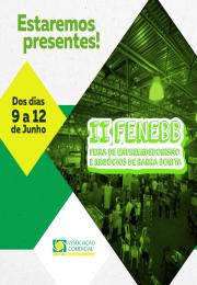 II FENEBB - Feira de Empreendedorismo e Negócios de Barra Bonita De 09 a 12/06/2016.