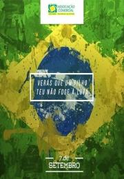 7 de Setembro - Independência do Brasil.